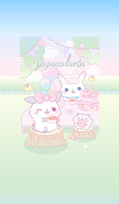 popocolorin. (Tea party ver)