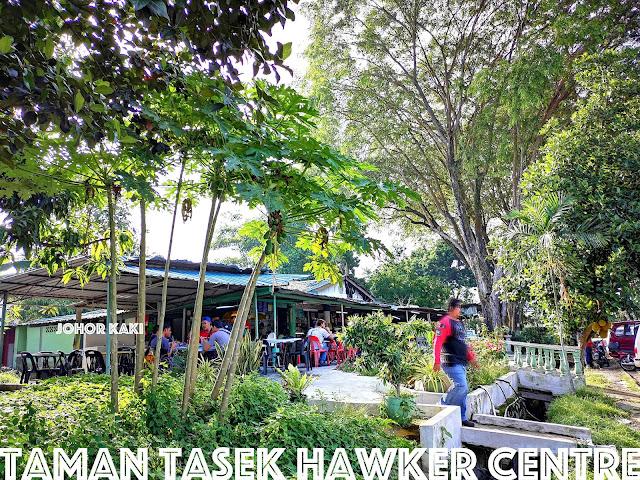 Taman Tasek Hawker Centre in Johor Bahru Malaysia. Untrendy but Cool