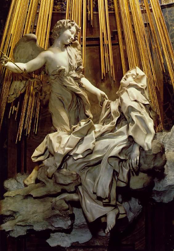 Gianlorenzo bernini ecstasy of saint theresa