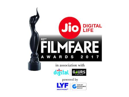 62nd Filmfare Awards 2017