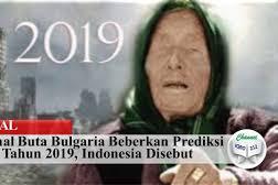 Peramal Buta Bulgaria Beberkan Prediksi Untuk Tahun 2019, Indonesia Disebut