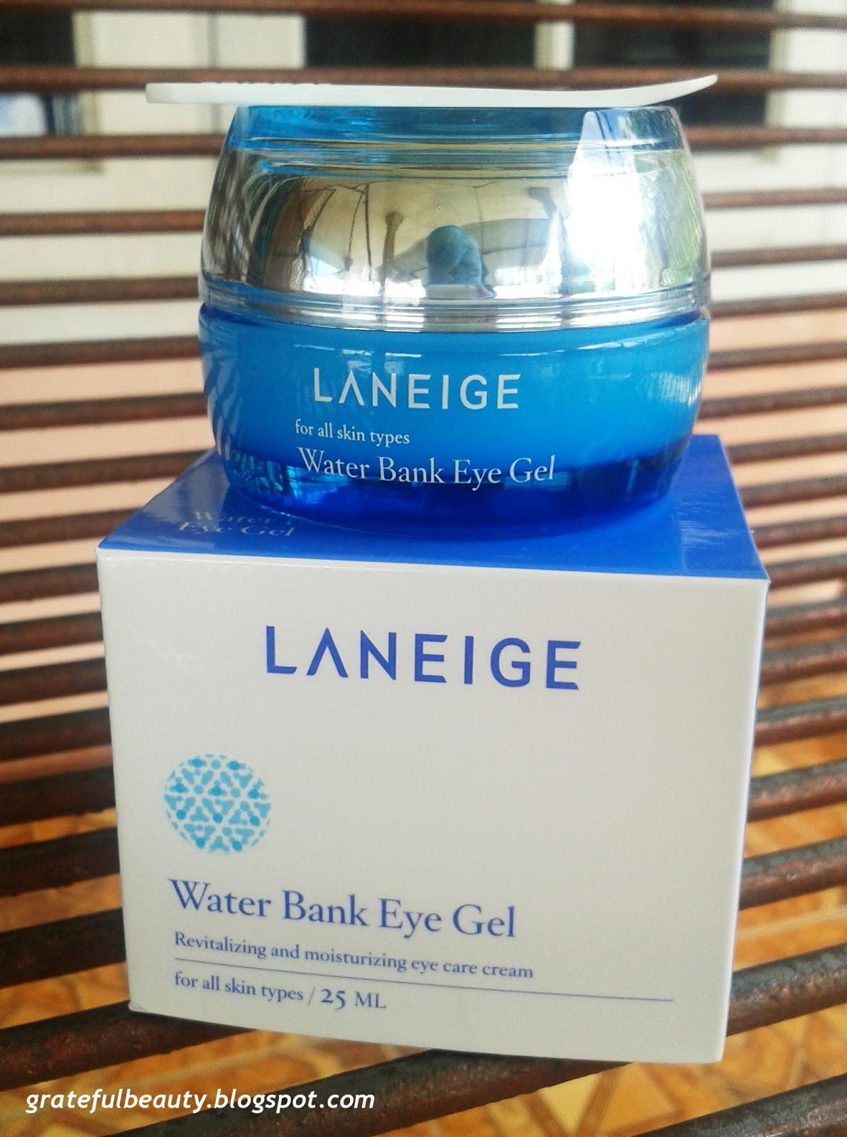 Laneige Water Bank Eye Gel Kornelia Luciana Set Paket A Ini Dapat Digunakan Untuk Jangka Waktu Yang Lumayan Lama Karena Hanya Perlu Sedikit Saja Pengaplikasiannya