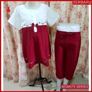 MOM079B16 Baju Setelan Hamil Lolita Menyusui Bajuhamil Ibu Hamil