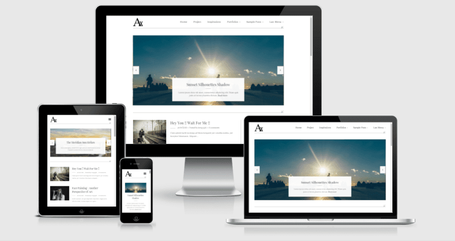 Axorys Blogger Template