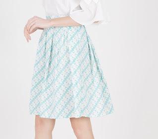 Model Rok Wanita Midi Skirt Kekinian Terbaru