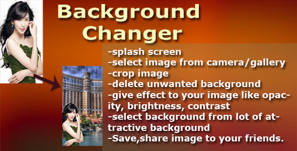 Photo Background Changer v1.0 - CodeCanyon