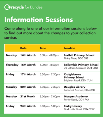 Recycling Information Sessions March 2017