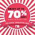 18 May - 10 July Mothercare The Great Singapore Sale