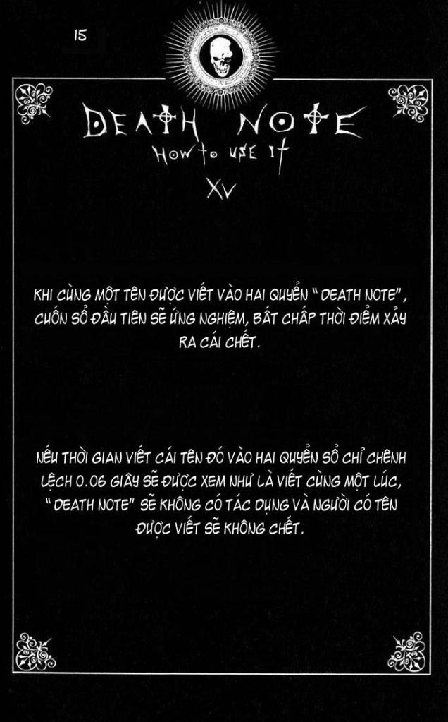 Death Note chapter 110 - how to use trang 18