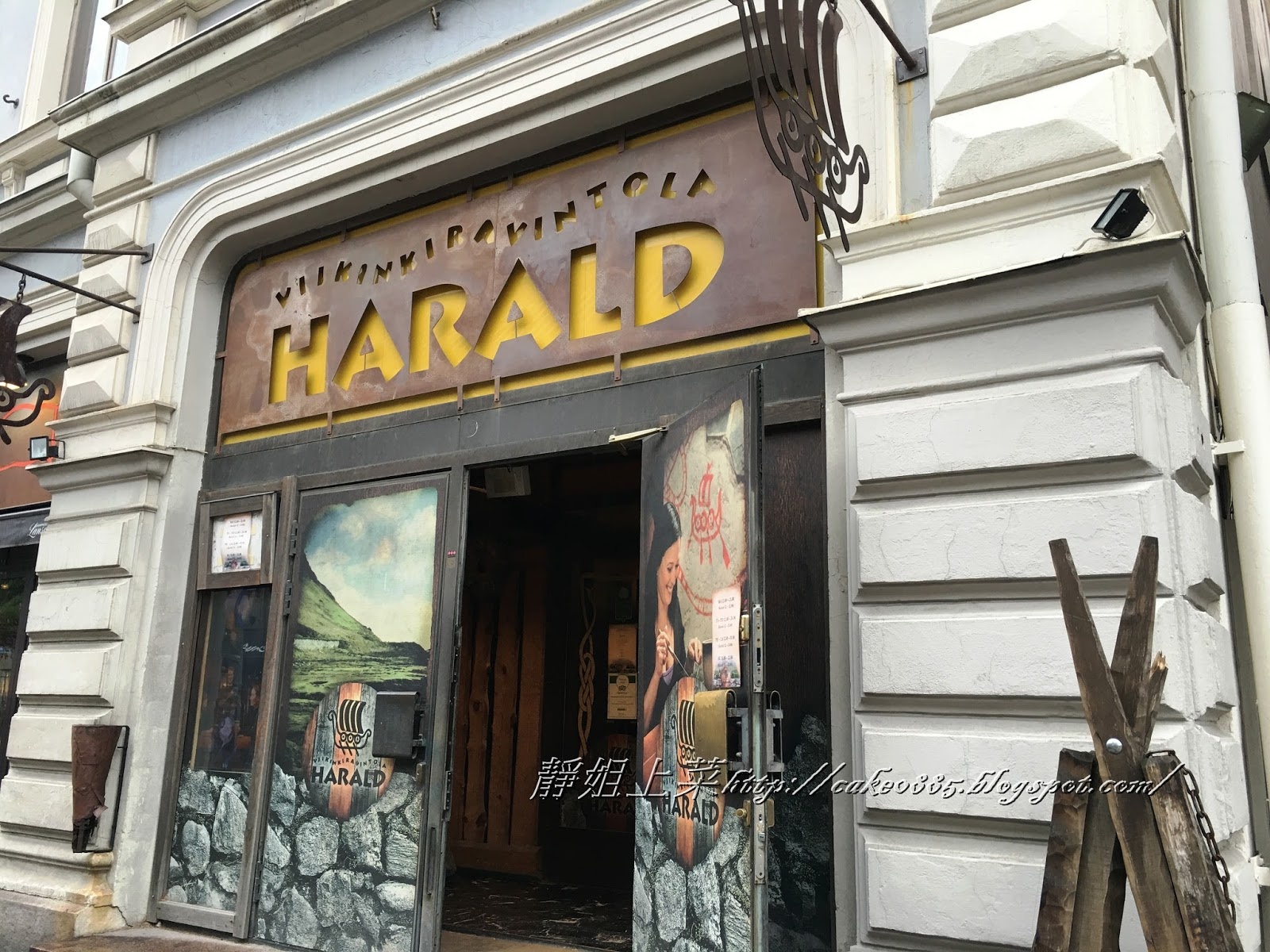 Viking Outdoor Kitchen Aid Classic Mixer 靜姐上菜 Jean的廚房飲食歡樂記 芬蘭塔爾庫 Turku Finland 之食旅 維京人起源於斯堪那維亞半島 瑞典 挪威 丹麥等那一塊北歐區域 有時也包括芬蘭和更北的冰島 是以海盜起家 幅員遼闊且勢力範圍龐大 善於航海和掠奪 廢話不然怎麼