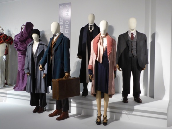 Fantastic Beasts film costumes