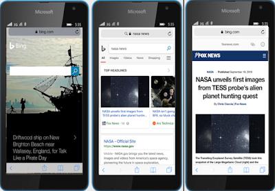 Microsoft تقدم دعم AMP في عمليات بحث Bing عبر الجوال