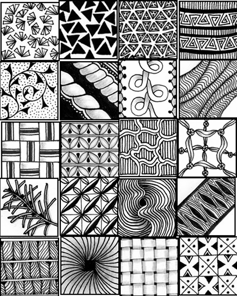 Hilaire image with regard to zentangle patterns printable