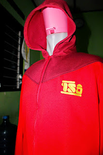 jaket bahan fleece pe