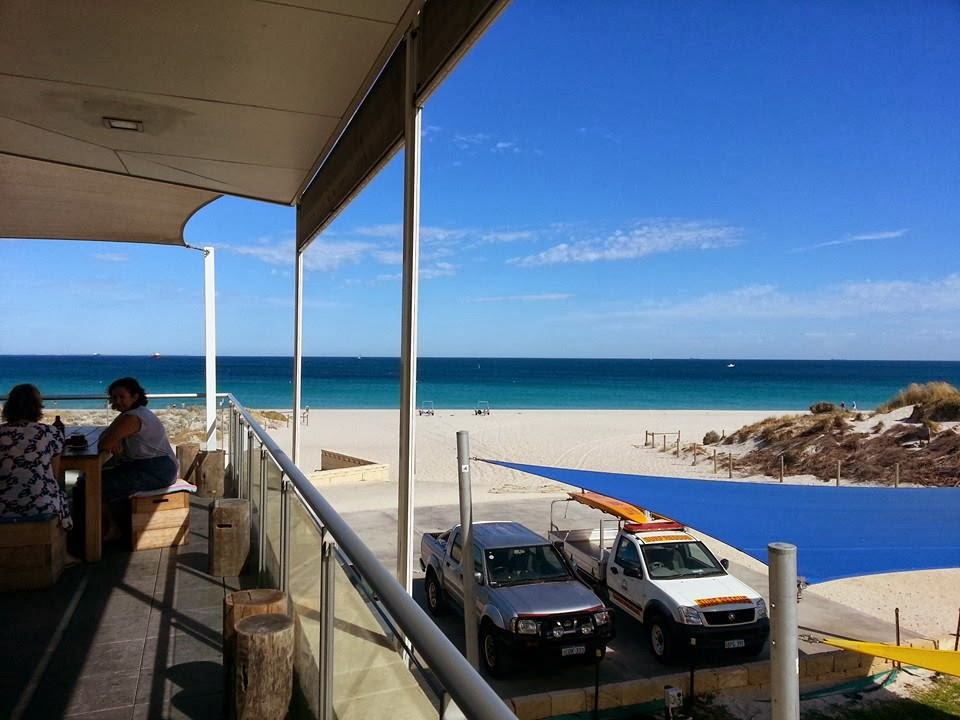 View of Leighton Beach from Bib and Tucker