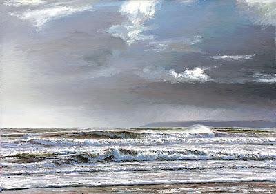 Cornish artist Andrew Giddens