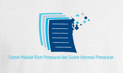 Contoh Makalah Riset Pemasaran dan Sistem Informasi Pemasaran