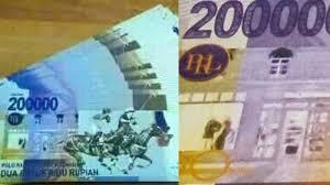 Gambar Uang Lima Ratus Ribu Kebenaran Isu Pecahan Uang Dua Ratus Ribu Rupiah 200 000 Live Tv