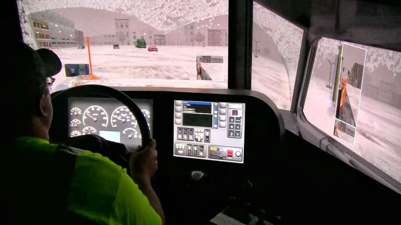 Virtual Snowplow Training Simulator