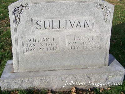 Tombstone Laura and Will Sullivan  https://jollettetc.blogspot.com
