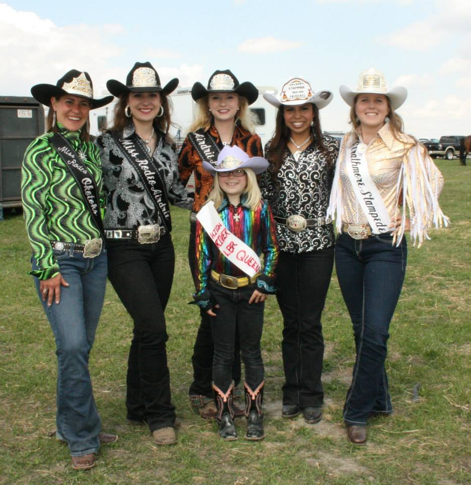 Airdrie Pro Rodeo Royalty May 2013