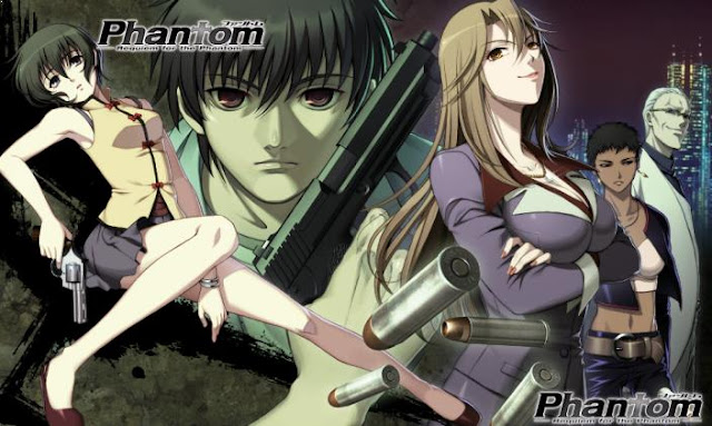 Anime dengan Karakter Utama Cool Phantom: Requiem for the Phantom