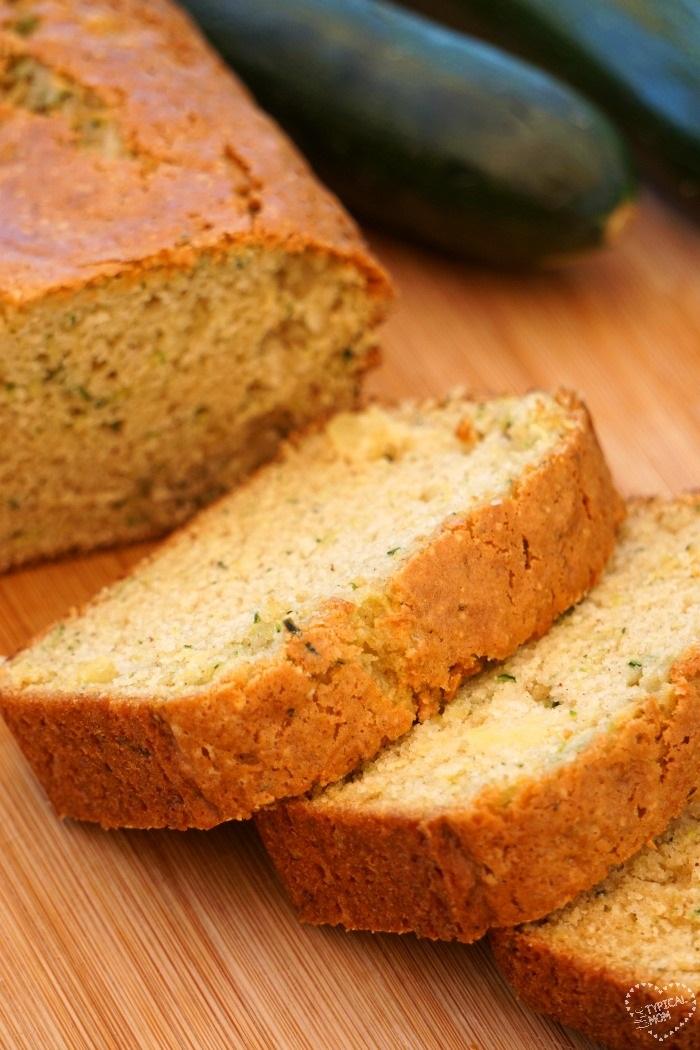 Zucchini Pineapple Bread