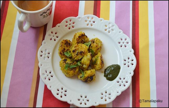 Jowar Cabbage Muthia