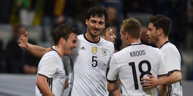 Hasil Euro 2016: Jerman mengalahkan Slovakia 3-0 di 16 besar