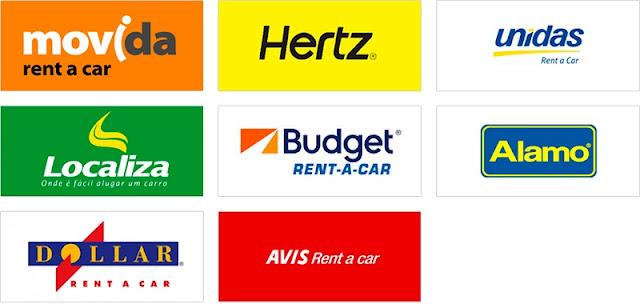 Empresas de aluguel de carro em Las Vegas e na Califórnia