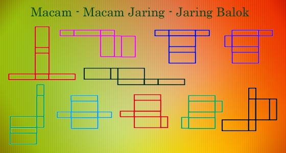 Macam Macam Jaring Jaring Balok Obeig Mathematic And