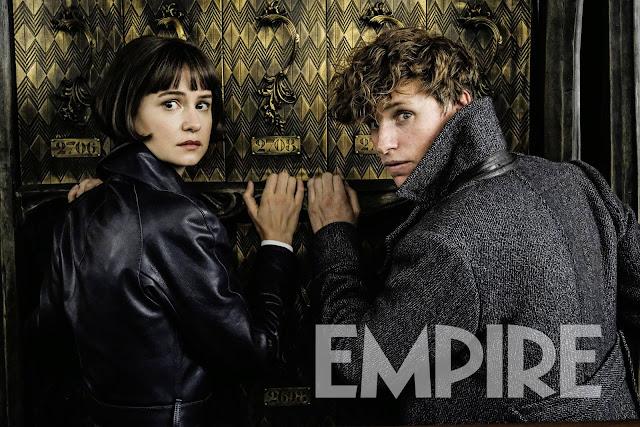 Tina e Newt em nova foto de 'Os Crimes de Grindelwald' | Ordem da Fênix Brasileira