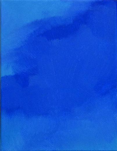 magda raczko przestrzenie błękitu olej na płótnie obrazy