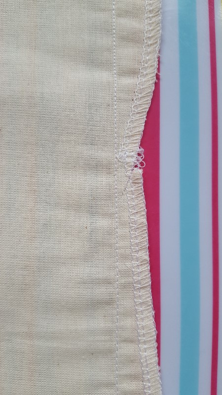 A selection of seam samples - open seam, welt seam, felled seam.  Click to find out more!