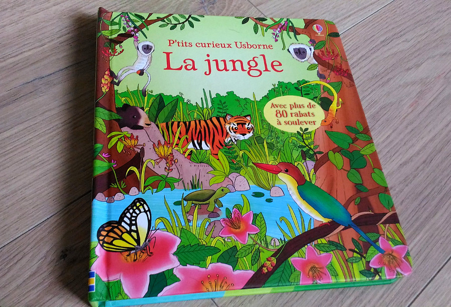La jungle - éditions Usborne