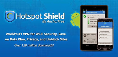 Hotspot Shield ELITE VPN v3.5 Apk For Android Terbaru 2015