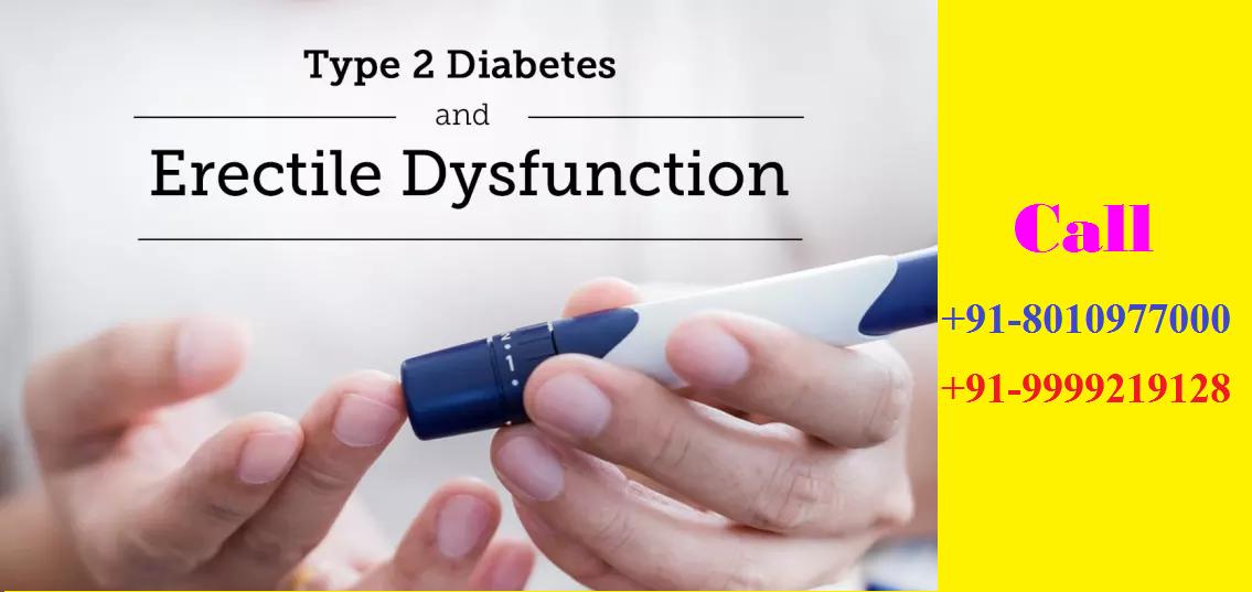 type 2 diabetes and erectile dysfunction treatment