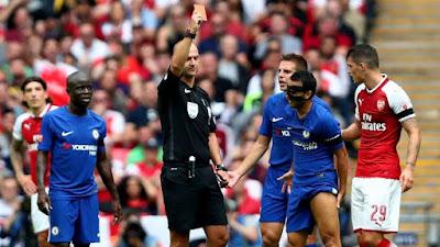Kalah 4-1 dari Arsenal, Conte Kecewa Dengan Wasit