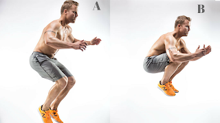 Tuck Jumps Tabata Workouts