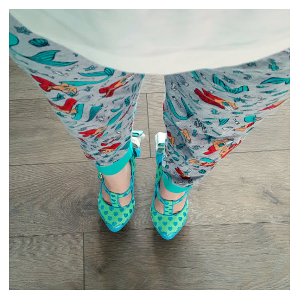 wearing irregular choice alice my cup of tea top