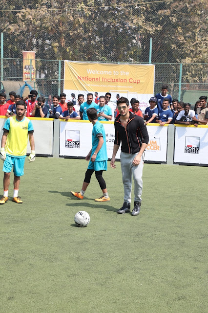 Bollywood Actor Sidharth Malhotra kicks off The National Inclusion Cup- A CSR Initaitve by Sony Pictures Networks India