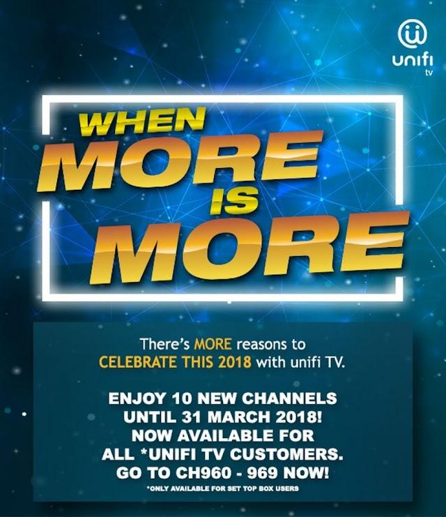 10 Saluran Percuma Unifi TV