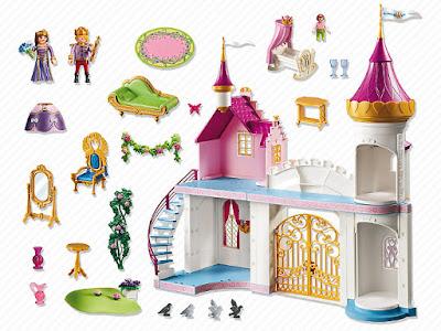 JUGUETES - PLAYMOBIL Princesas  6849 Palacio de la princesa : Palacete de princesas  2016 | Edad: 4-10 años  Comprar en Amazon España