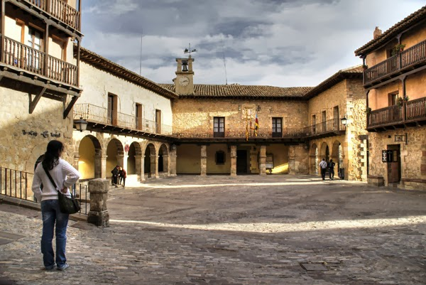 Plaza Mayor Albarracín