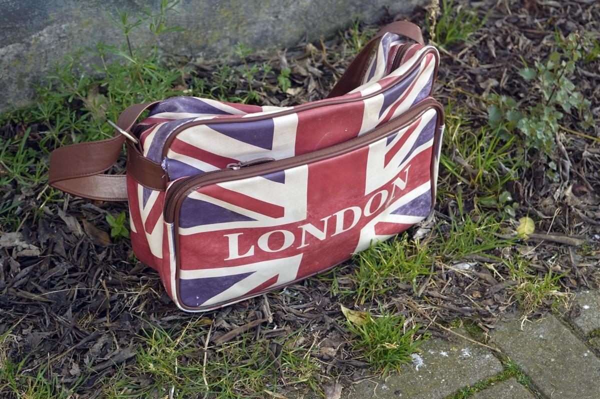 Union Jack London Messenger Bag