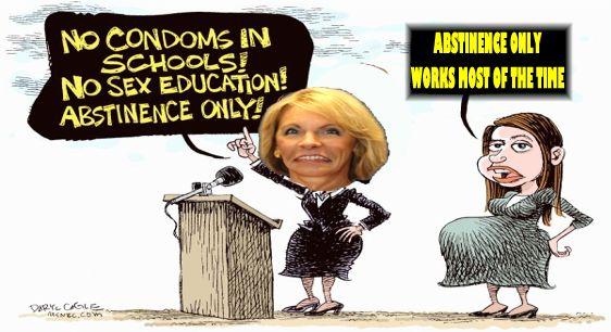 in against shools education sex