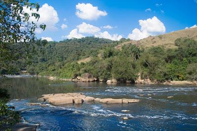 Estrada dos Romeiros - Vista do Rio Tietê