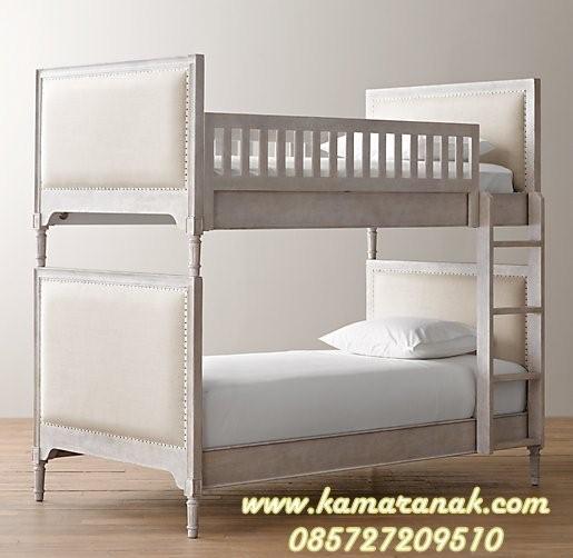 model tempat tidur susun dari kayu 3