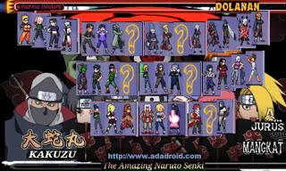 Game Lengkap: Download Kumpulan Naruto Senki v1.09-v1.30 Apk
