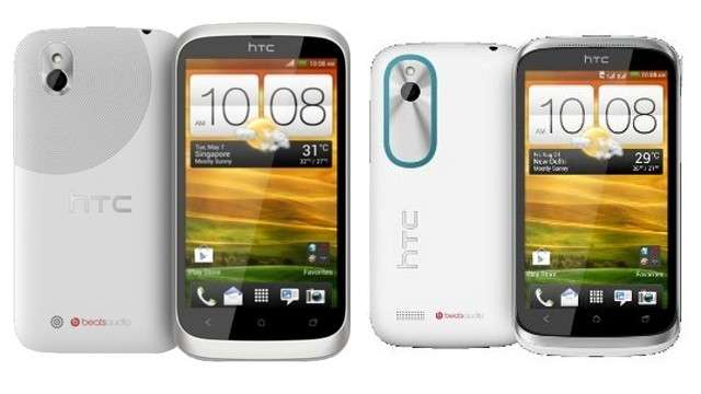 The latest smart phones available in India BlackBerry Q10, HTC Desire U and HTC XDS